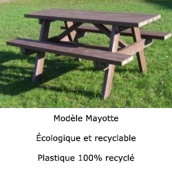 Table picnic mayotte